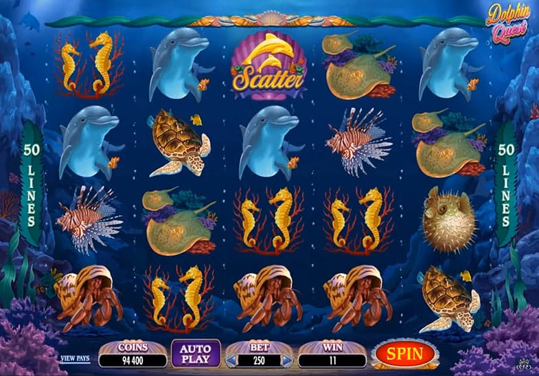 Free Demo of Dolphin Quest